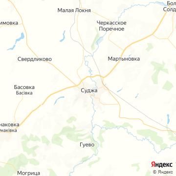 Карта Суджи