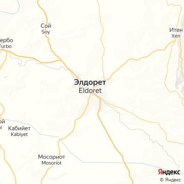 Карта Элдорета