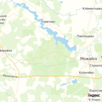 Карта Бородино