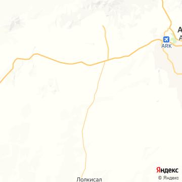 Карта Лейка-Маньяры