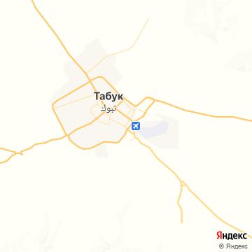 Карта Табука