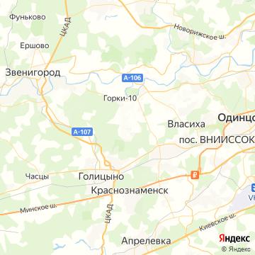 Карта Назарьево
