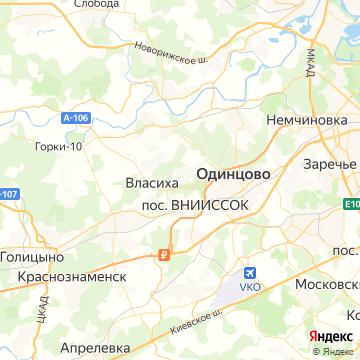 Карта Власихи