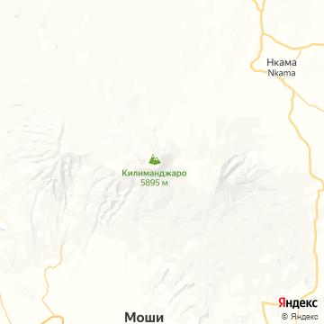 Карта Килиманджаро