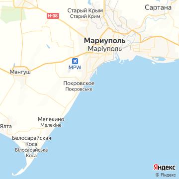 Карта Мариуполь
