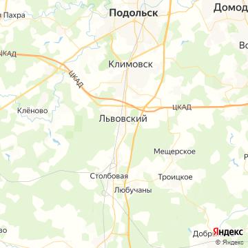 Карта Львовского