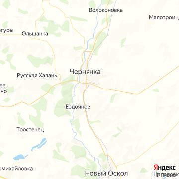 Карта Чернянки
