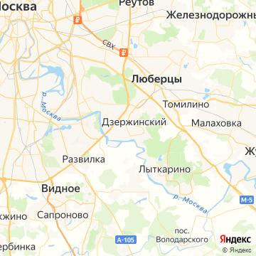 Карта Дзержинского