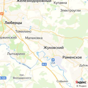 Карта Быково