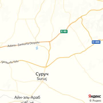 Карта Шанлыурфы