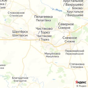 Карта Тореза