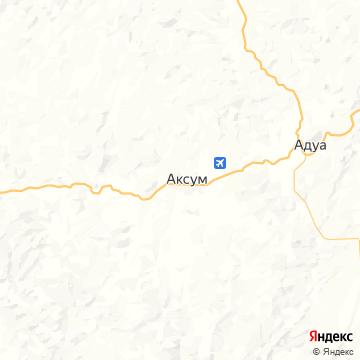 Карта Аксума