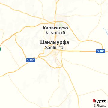 Карта Санлиурфы