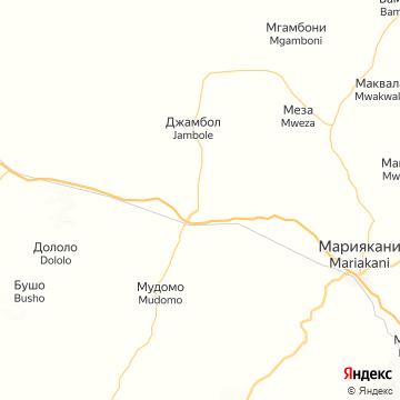 Карта Самбуру