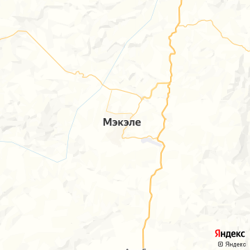 Карта Макале