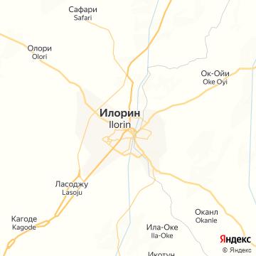 Карта Ilorin