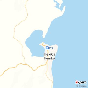 Карта Пембы