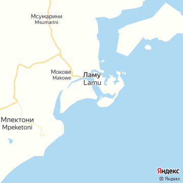 Карта Ламу
