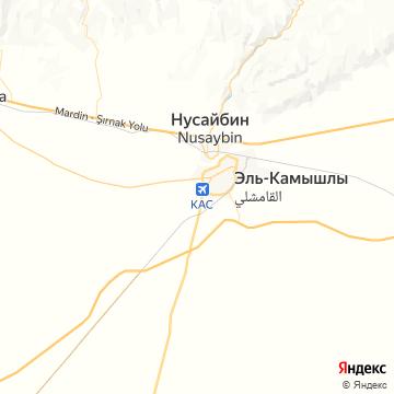 Карта Камешлей