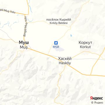 Карта Муша
