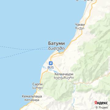 Карта Батуми