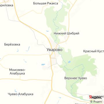 Карта Уварово