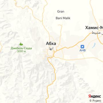 Карта Абхи