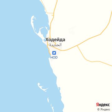 Карта Ходейды