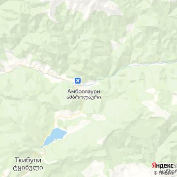 Карта Гори