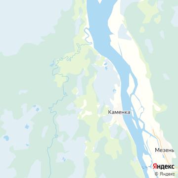 Карта Каменки