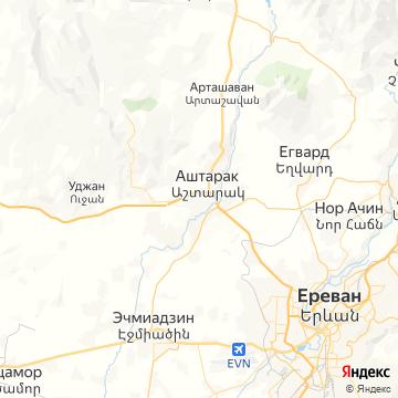 Карта Аштарака