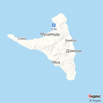 Карта Анжуана