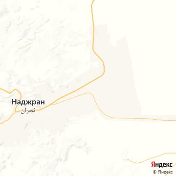 Карта Неджрана