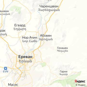 Карта Абовяна