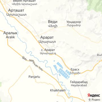 Карта Арарата
