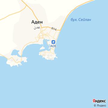 Карта Адена