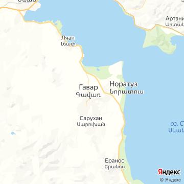 Карта Камо