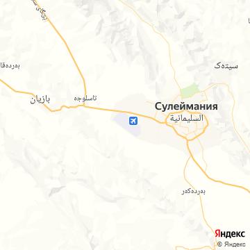 Карта Сулейманий