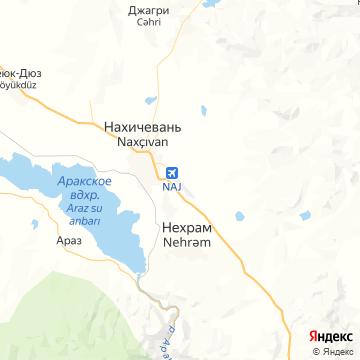 Карта Нахичевани