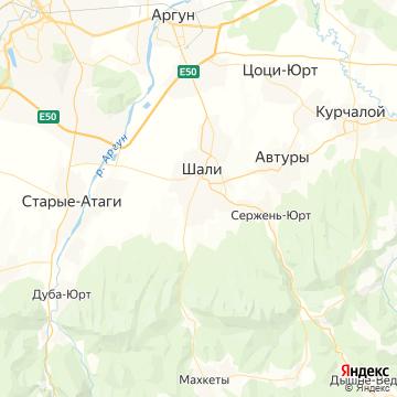 Карта Шали