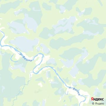 Карта Чупрово