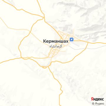 Карта Керманшаха