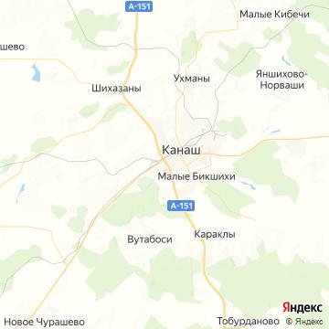 Карта Канаша