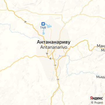 Карта Антананариву