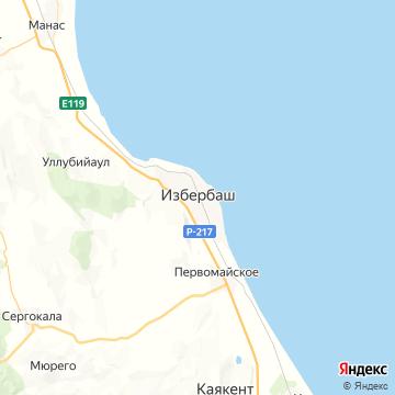 Карта Изберга