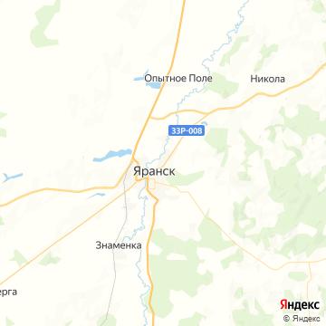 Карта Яранск