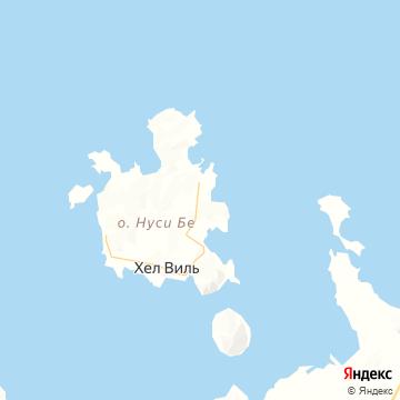 Карта Носси-Бе