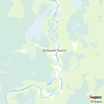 Карта Пыссы