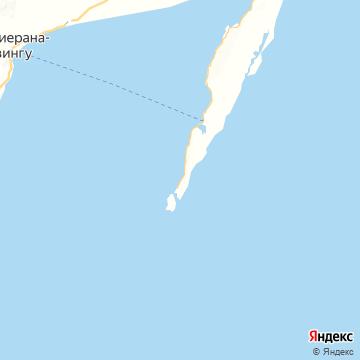 Карта Сента-Мари
