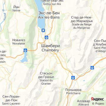 Карта Шамберь